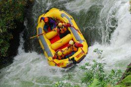 White water ride